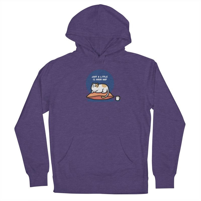 Cat nap Women's Pullover Hoody by Randyotter