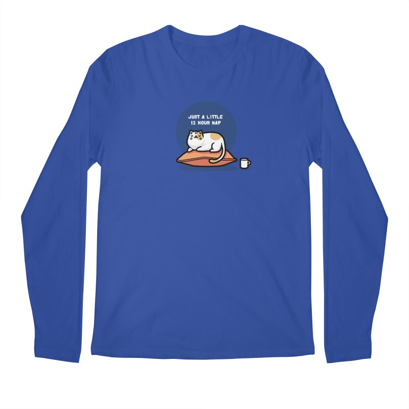 Cat nap Men's Longsleeve T-Shirt by Randyotter