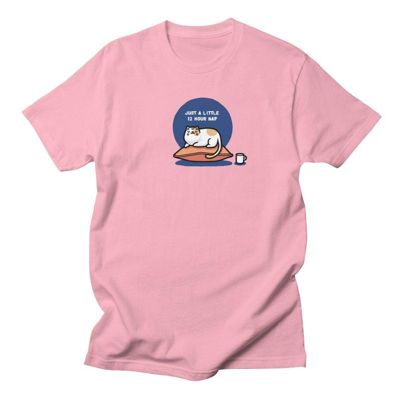 Cat nap Men's T-shirt by Randyotter