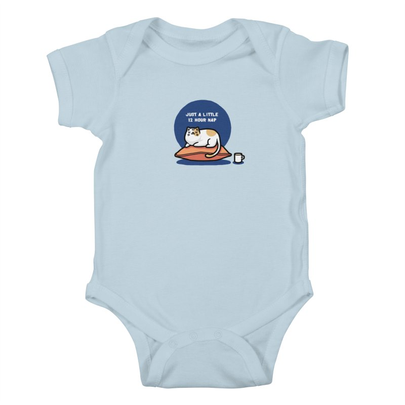 Cat nap Kids Baby Bodysuit by Randyotter