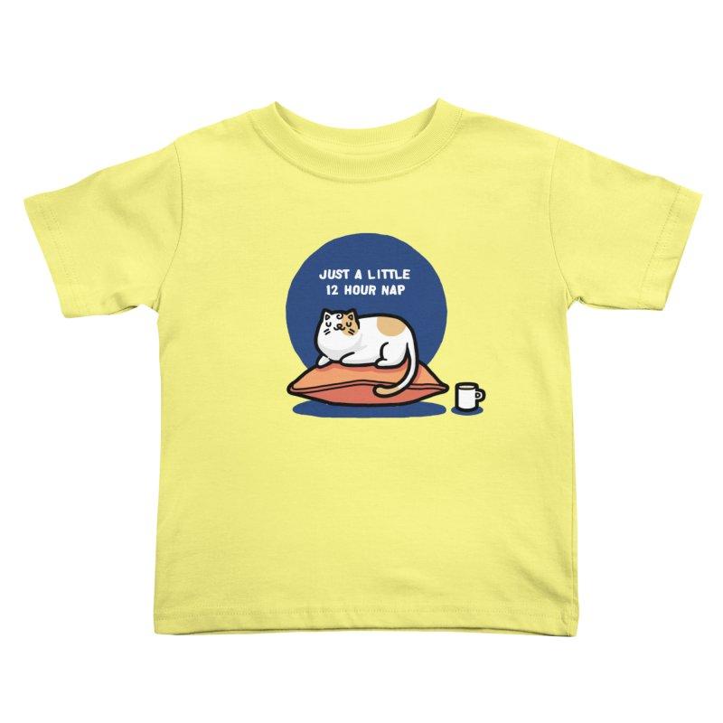 Cat nap Kids Toddler T-Shirt by Randyotter