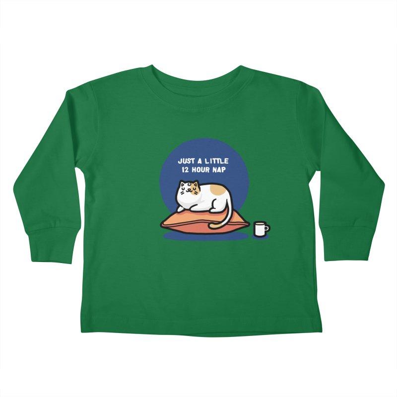 Cat nap Kids Toddler Longsleeve T-Shirt by Randyotter