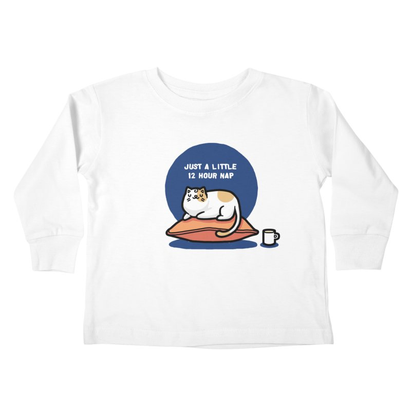 Cat nap Kids Toddler Longsleeve T-Shirt by Randyotter