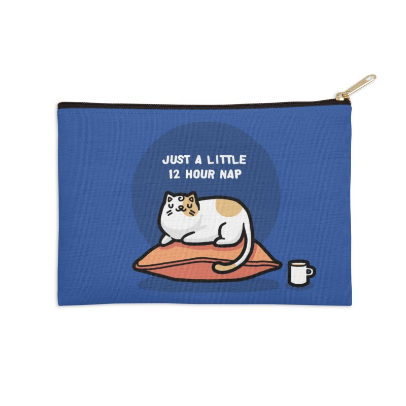 Cat nap Accessories Zip Pouch by Randyotter