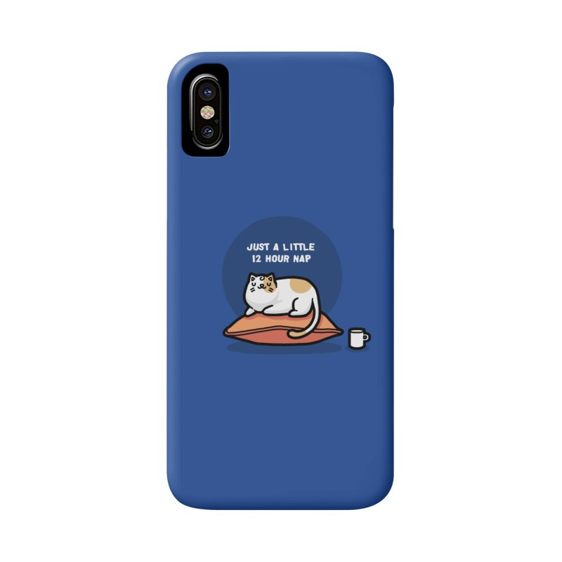 Cat nap Accessories Phone Case by Randyotter