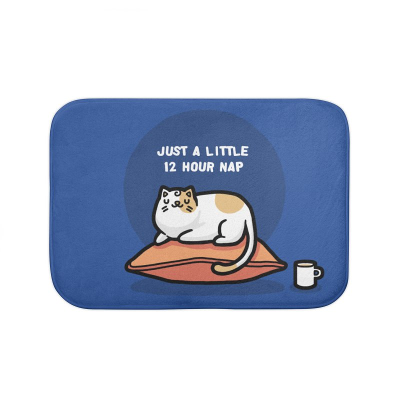 Cat nap Home Bath Mat by Randyotter