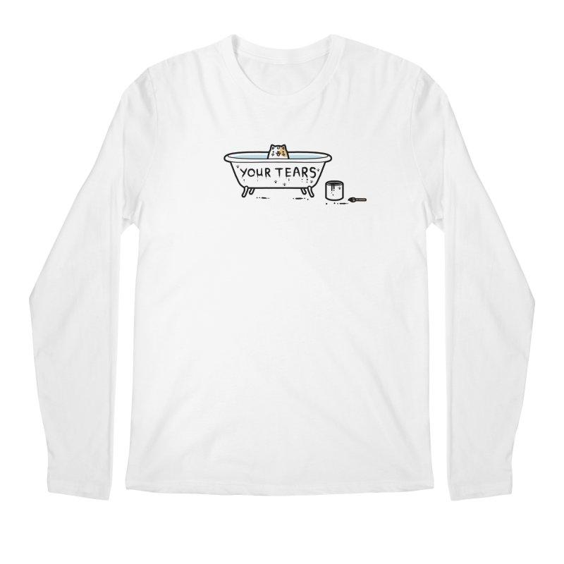 Bath time Men's Longsleeve T-Shirt by Randyotter