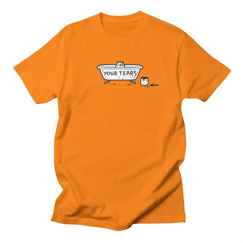 Bath time Men's T-Shirt by Randyotter