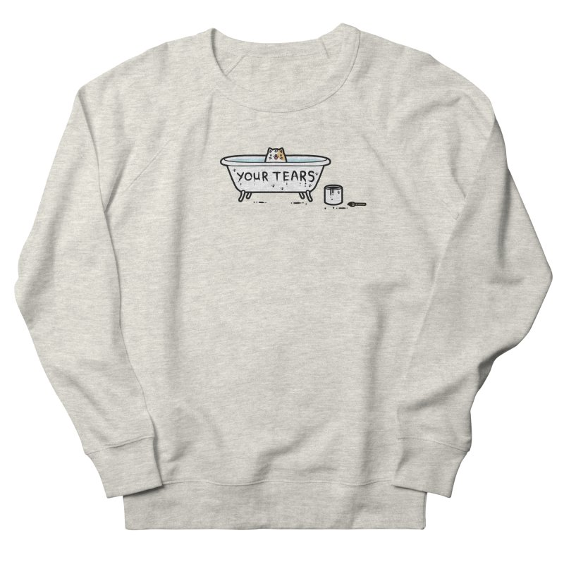 Bath time Women's French Terry Sweatshirt by Randyotter