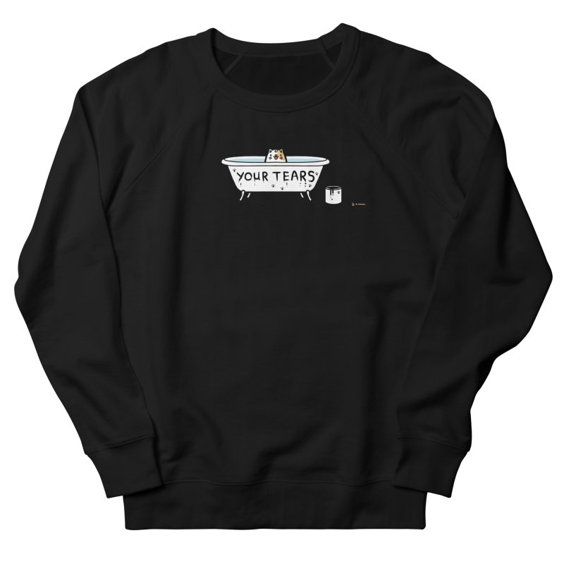 Bath time Men's French Terry Sweatshirt by Randyotter
