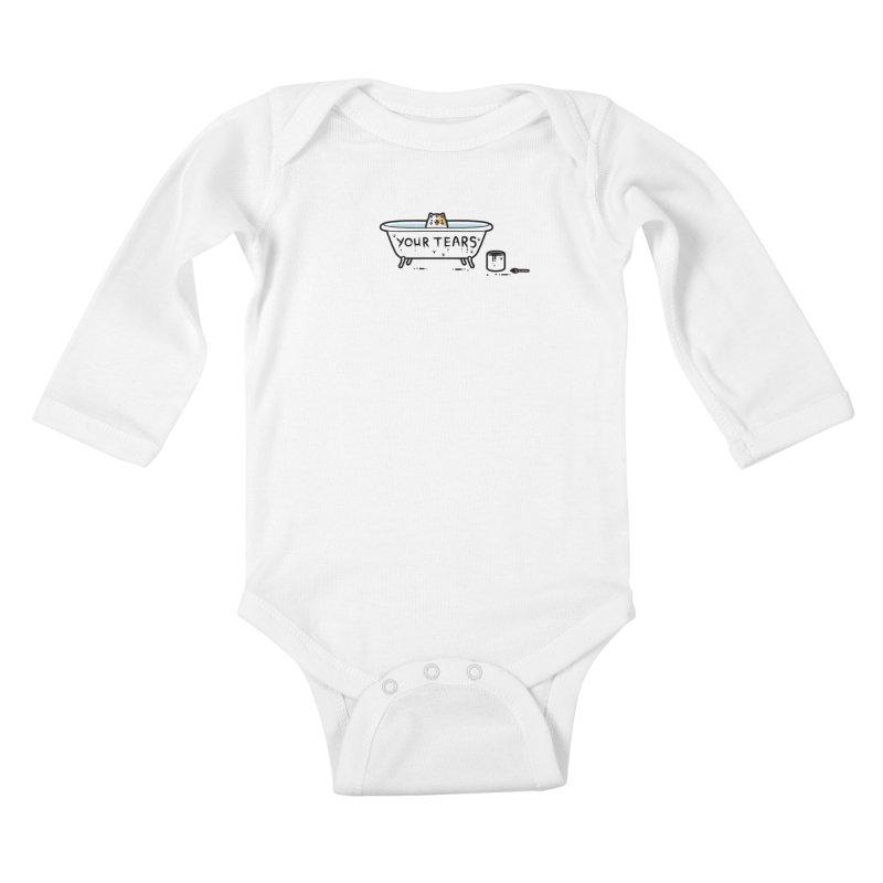 Bath time Kids Baby Longsleeve Bodysuit by Randyotter