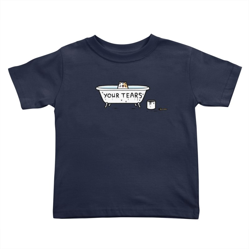 Bath time Kids Toddler T-Shirt by Randyotter