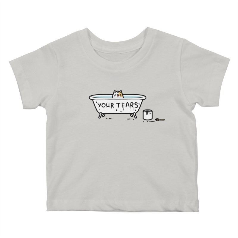 Bath time Kids Baby T-Shirt by Randyotter