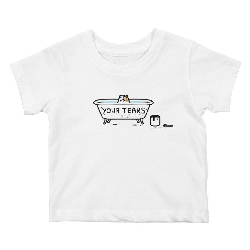 Bath time Kids Baby T-Shirt by Randyotter