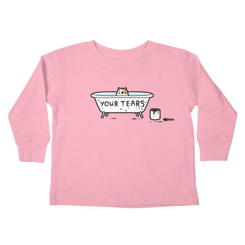 Bath time Kids Toddler Longsleeve T-Shirt by Randyotter