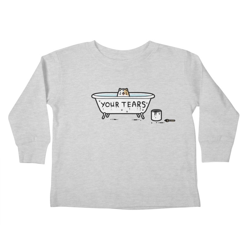 Bath time Kids Toddler Longsleeve T-Shirt by Randyotter