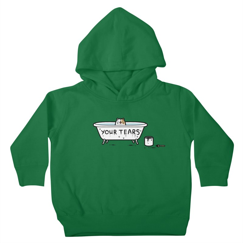 Bath time Kids Toddler Pullover Hoody by Randyotter