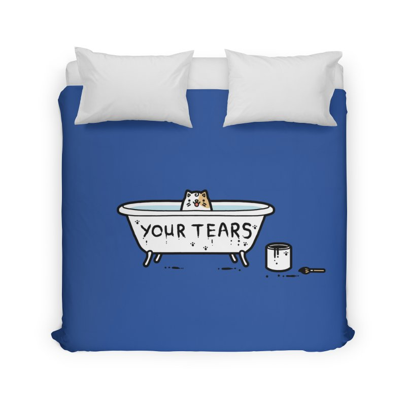 Bath time Home Duvet by Randyotter