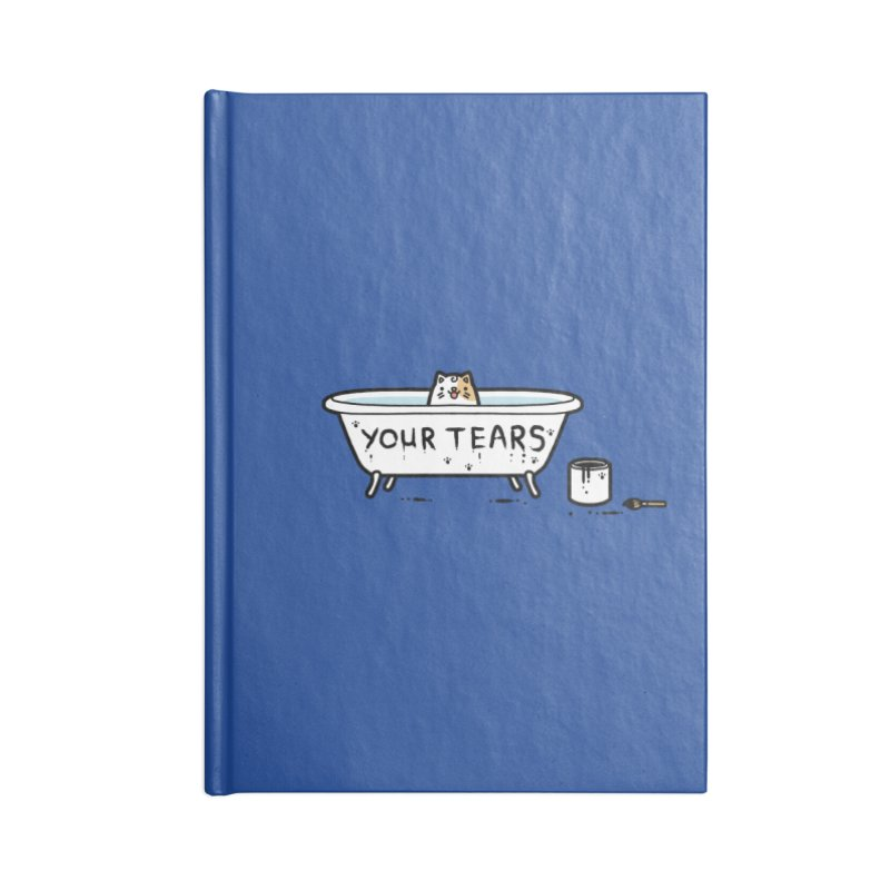 Bath time Accessories Notebook by Randyotter