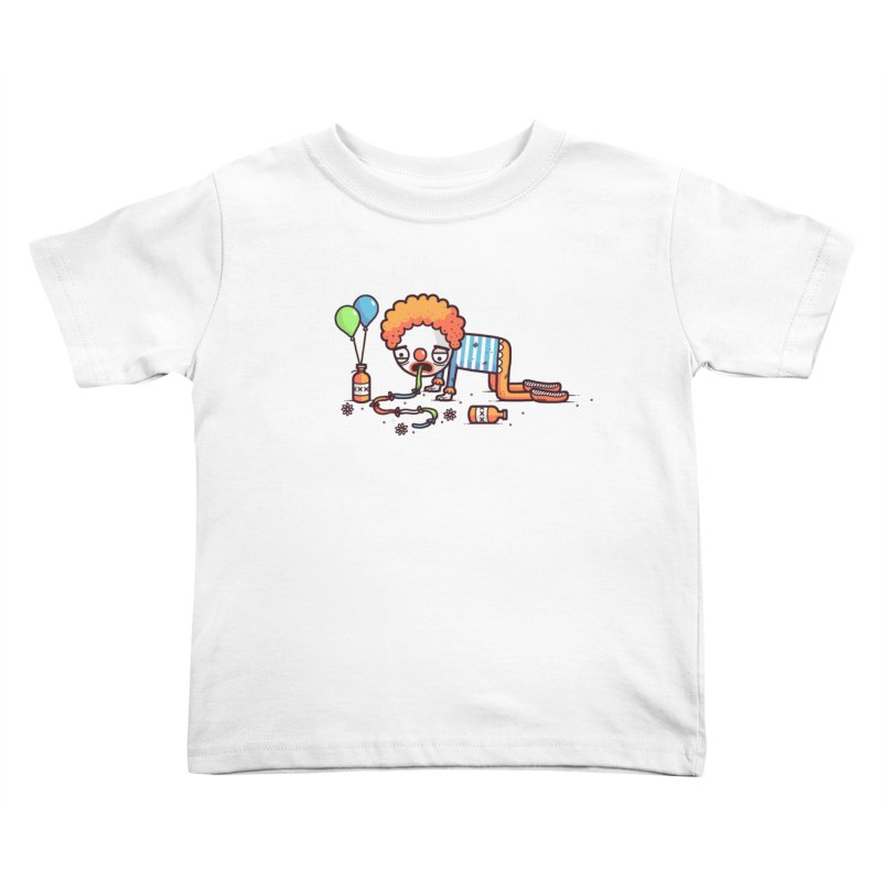 Not funny Kids Toddler T-Shirt by Randyotter