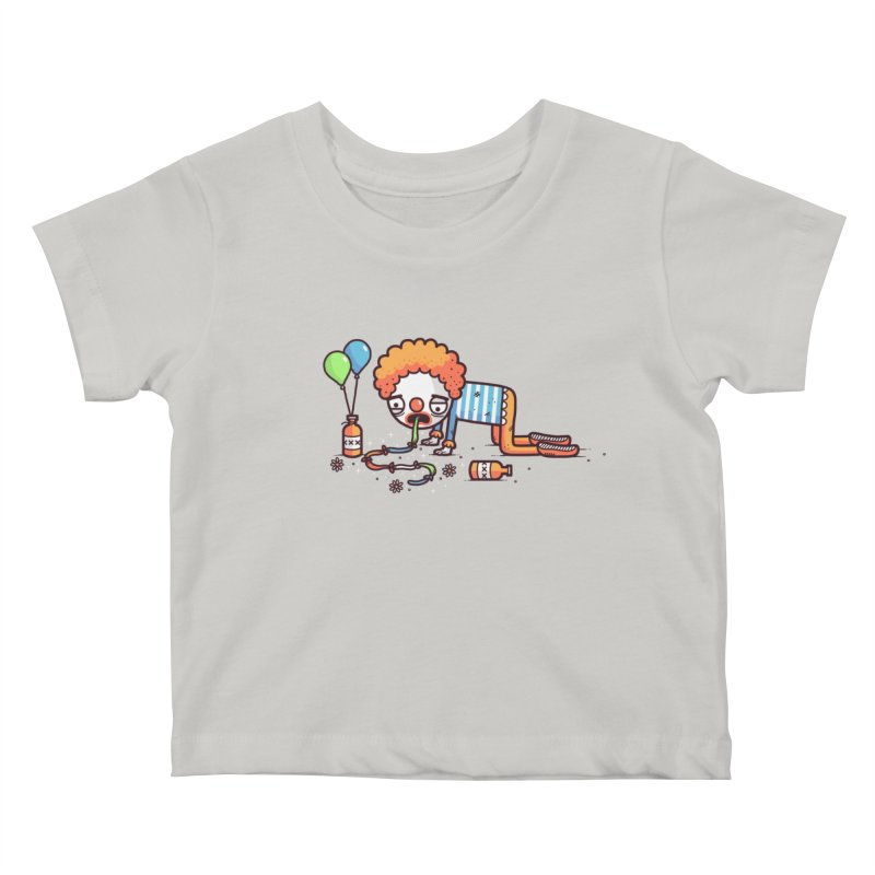 Not funny Kids Baby T-Shirt by Randyotter