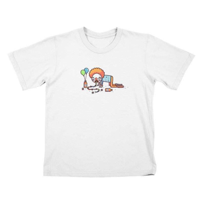 Not funny Kids T-Shirt by Randyotter