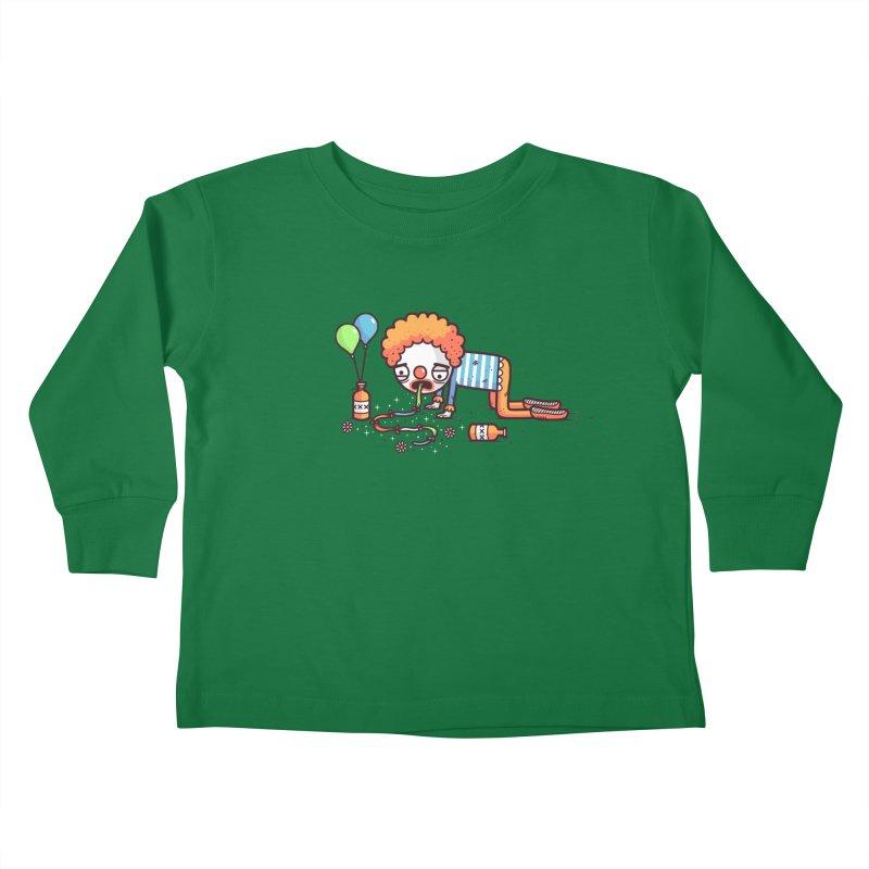 Not funny Kids Toddler Longsleeve T-Shirt by Randyotter