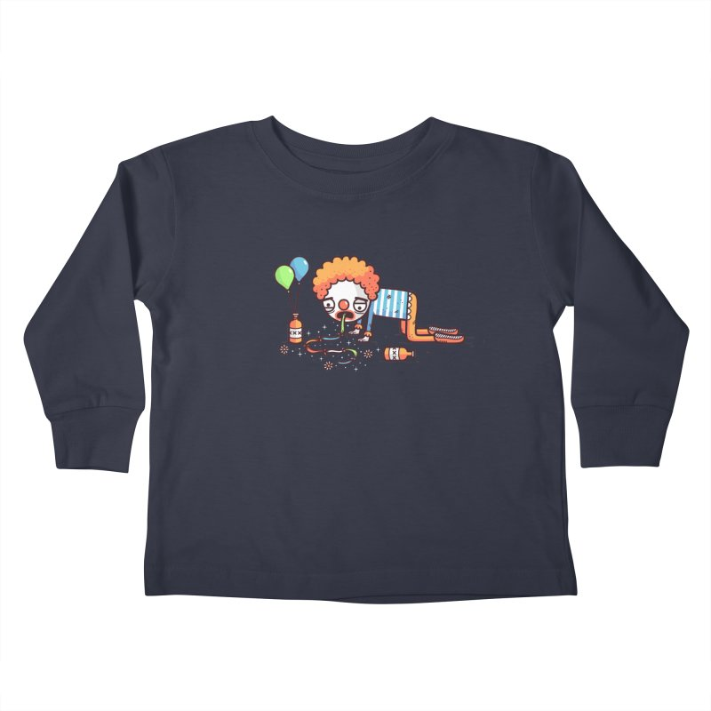 Not funny Kids Toddler Longsleeve T-Shirt by Randyotter