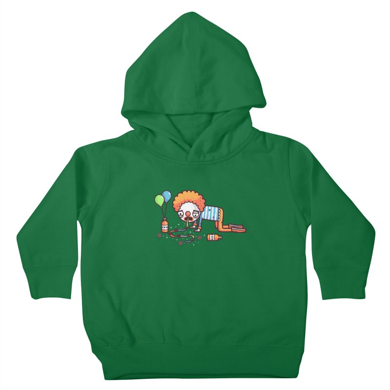 Not funny Kids Toddler Pullover Hoody by Randyotter