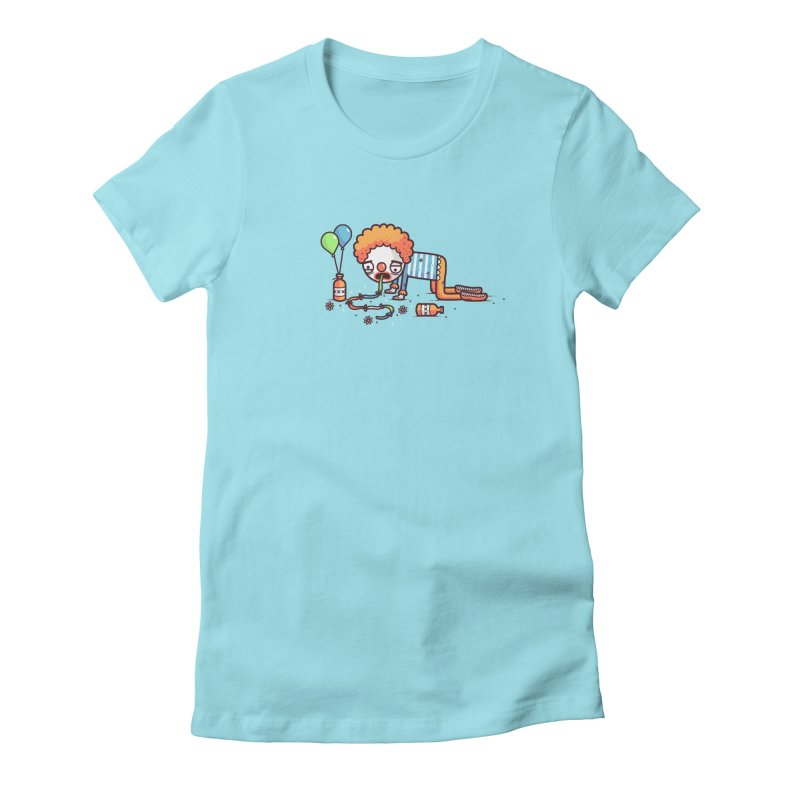 Not funny Women's Fitted T-Shirt by Randyotter