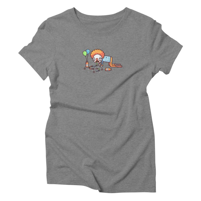 Not funny Women's Triblend T-Shirt by Randyotter