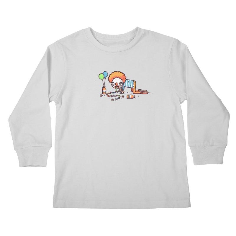 Not funny Kids Longsleeve T-Shirt by Randyotter
