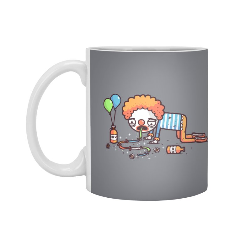 Not funny Accessories Mug by Randyotter