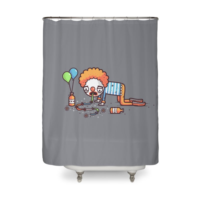 Not funny Home Shower Curtain by Randyotter