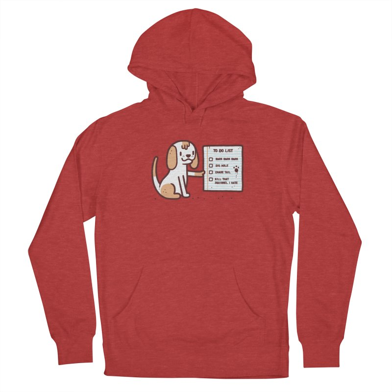 Dog to do Men's Pullover Hoody by Randyotter