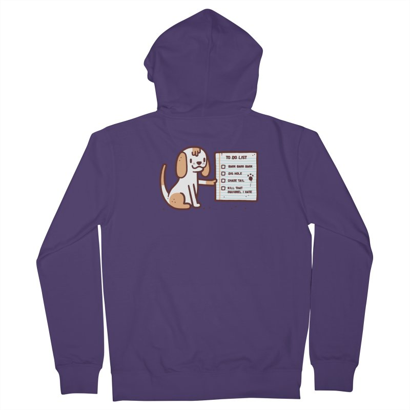 Dog to do Women's Zip-Up Hoody by Randyotter