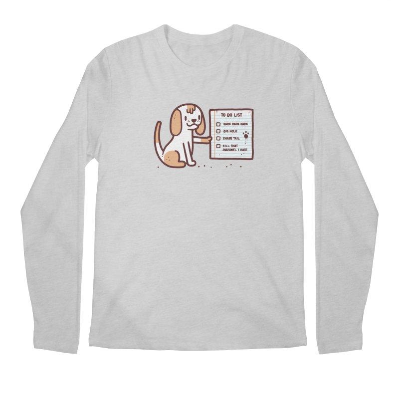Dog to do Men's Longsleeve T-Shirt by Randyotter