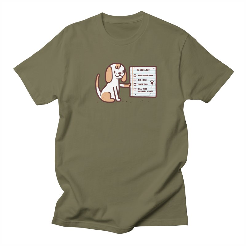 Dog to do Women's Unisex T-Shirt by Randyotter