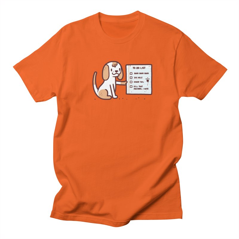 Dog to do Men's T-Shirt by Randyotter