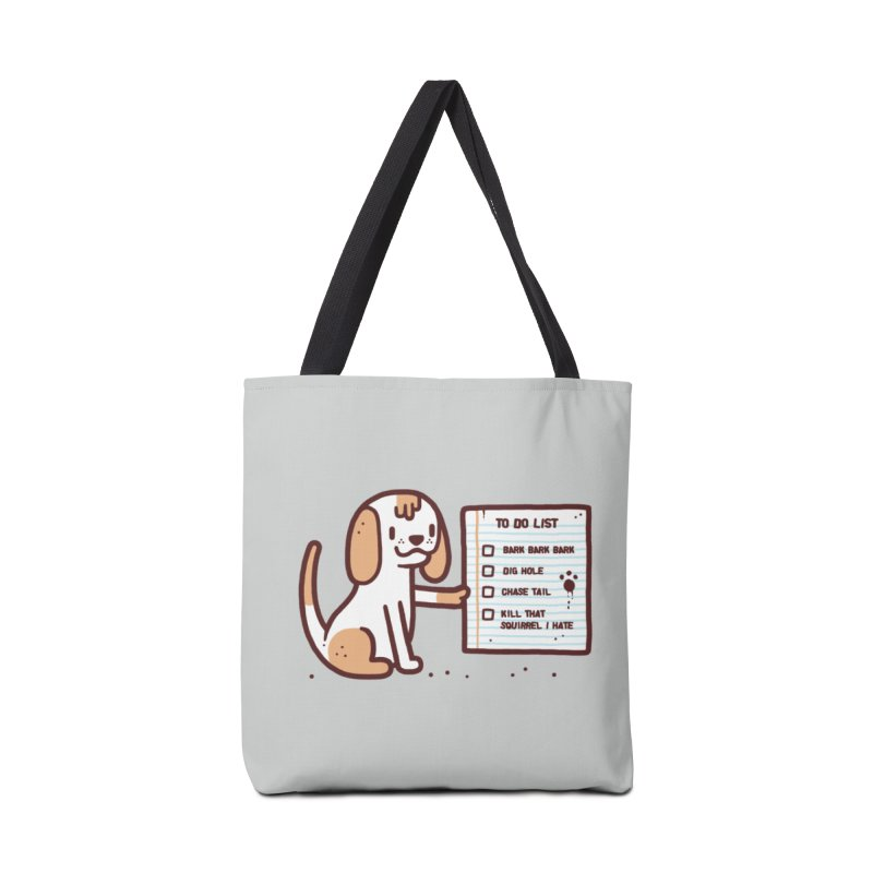 Dog to do Accessories Bag by Randyotter