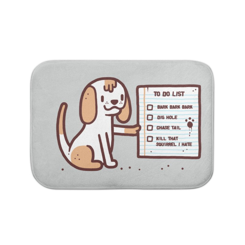 Dog to do Home Bath Mat by Randyotter