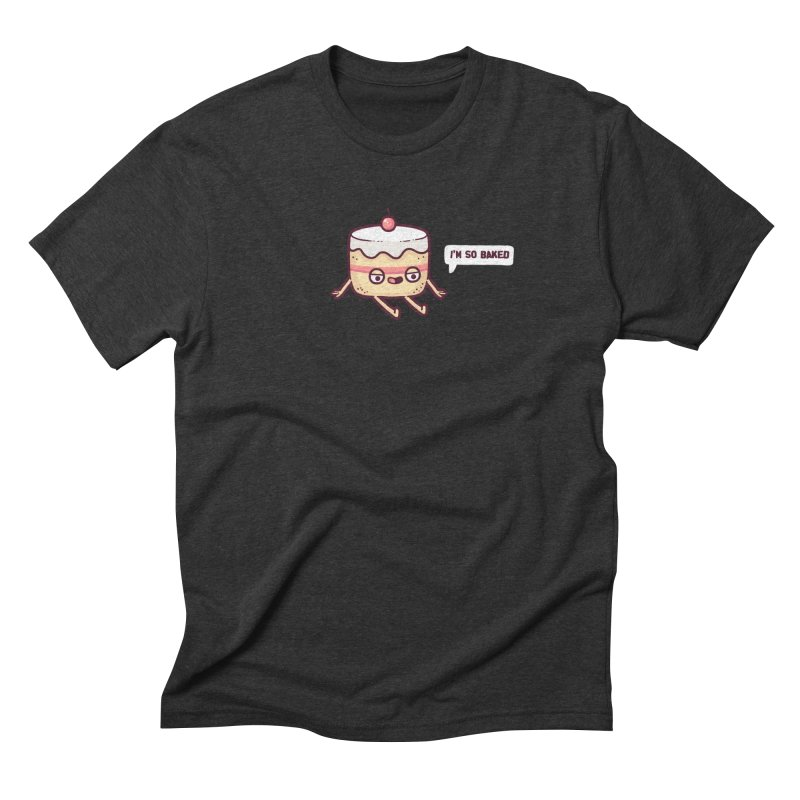 Baked Men's Triblend T-Shirt by Randyotter