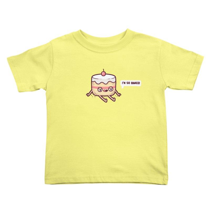 Baked Kids Toddler T-Shirt by Randyotter
