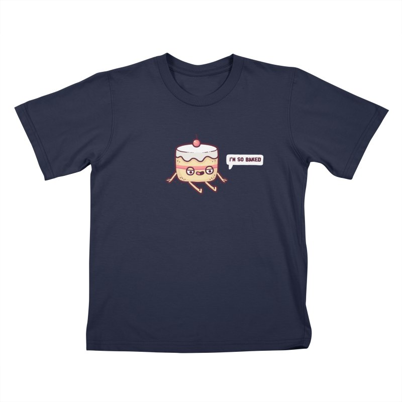 Baked Kids T-Shirt by Randyotter