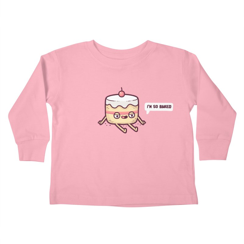 Baked Kids Toddler Longsleeve T-Shirt by Randyotter
