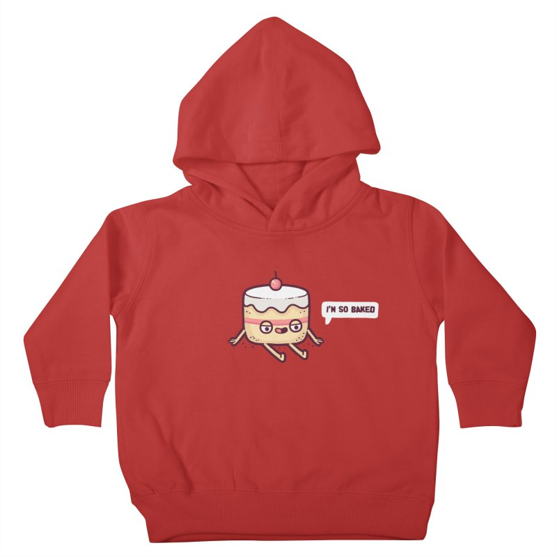 Baked Kids Toddler Pullover Hoody by Randyotter