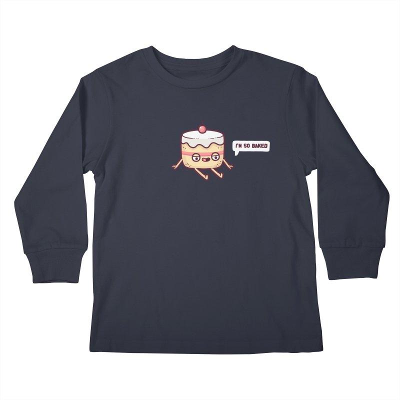 Baked Kids Longsleeve T-Shirt by Randyotter
