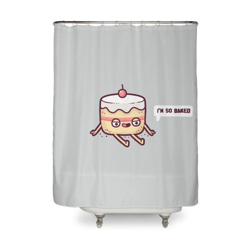 Baked Home Shower Curtain by Randyotter