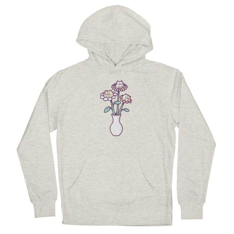 Flower felines Women's Pullover Hoody by Randyotter