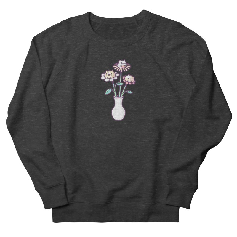 Flower felines Men's Sweatshirt by Randyotter